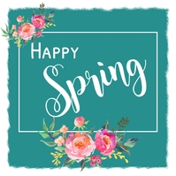 Spring, Greetings Publicación de Instagram template