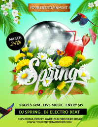 Spring, spring party, spring break