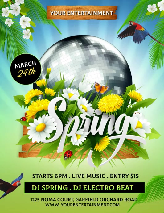 Spring, spring party, spring video