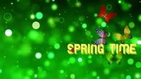 Spring 2021 Digital Display Video 数字显示屏 (16:9) template