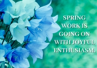 SPRING AND JOYFUL QUOTE TEMPLATE A5