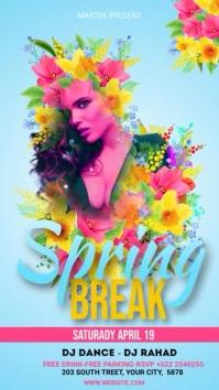 Spring Break Ads Indaba yaku-Instagram template