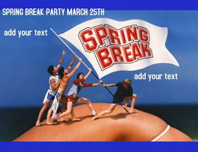 SPRING BREAK BAR AD