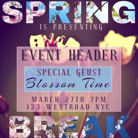 spring break event