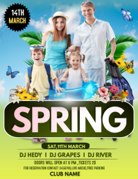 Spring break flyers
