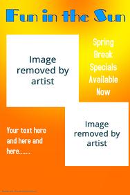 Spring Break Hot Poster