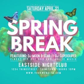Spring Break Party Event Video Splash Video Advert Promo