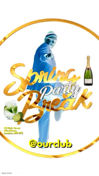 Spring Break Party Video