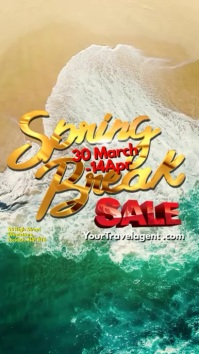 Spring Break Sale Video