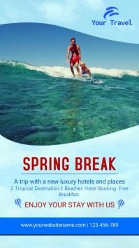 Spring Break Trip Video Template