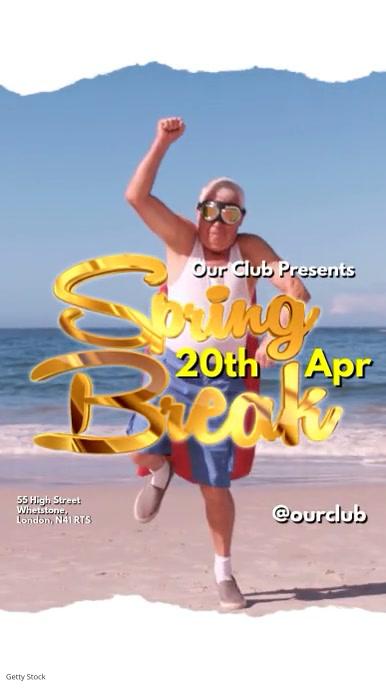 Spring Break Video Template