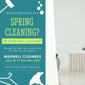 Spring Cleaner Service Ad