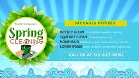 Spring Cleaner Service Banner