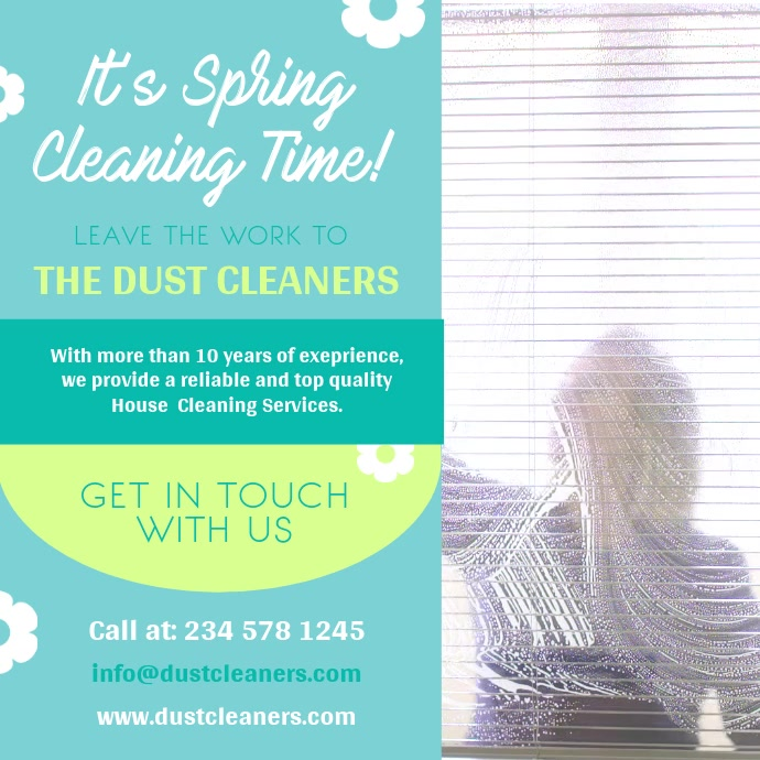 Spring Cleaning Ad Square Video