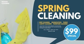 Spring cleaning Ibinahaging Larawan sa Facebook template