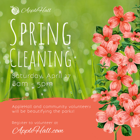Spring Cleaning Event Instagram Image