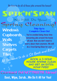 Spring Cleaning Flyer