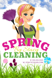 cleaning flyer video