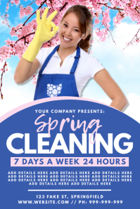 Spring Cleaning Poster