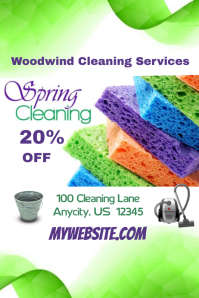 Spring Cleaning Sale Event Flyer