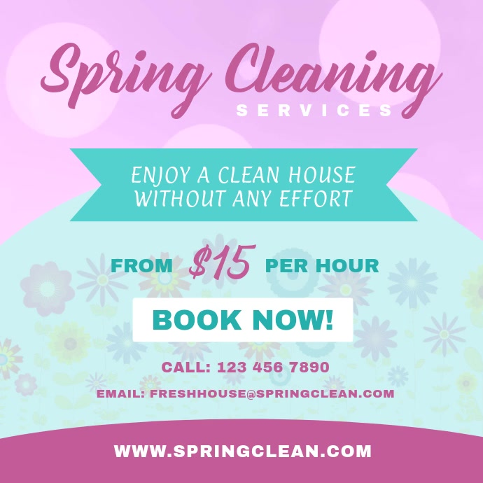 Spring Cleaning Services Instagram Video Ad