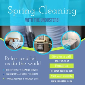 Spring Cleaning Servides Ad Instagram Video