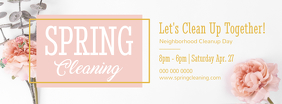 Spring Cleaning Special Service Ad Facebook Cover Photo template
