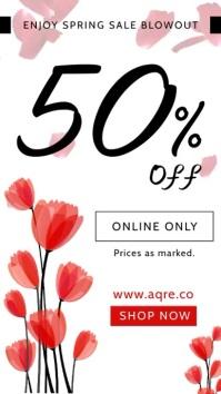 Spring Clearance Sale Digital Display Ad