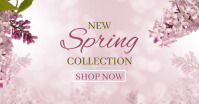 Spring Collection Image partagée Facebook template