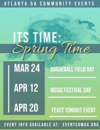 Spring Community Events