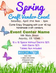 Spring Craft Vendor Event