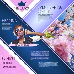 SPRING EVENT AD TEMPLATE