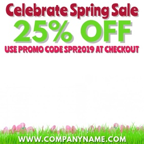 Spring Event Digital Display Video Template