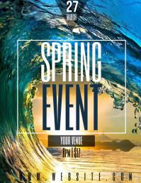 SPRING event flyer