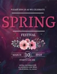 SPRING Event Flyer DIGITAL Template