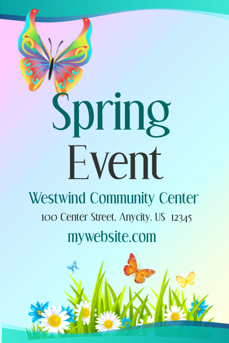 Spring Event Template Postermywall