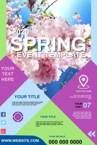 SPRING EVENT POSTER TEMPLATE