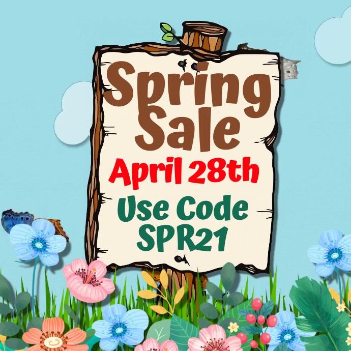 Spring Event Social Media Template Persegi (1:1)
