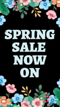 Spring Event Social Media Video Template Digital Display (9:16)