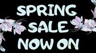 Spring Event Social Media Video Template Digitalanzeige (16:9)