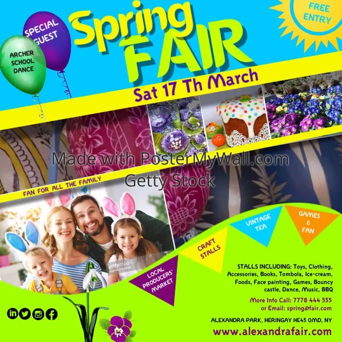 spring fair Instagram video