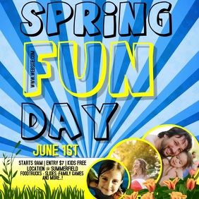 SPRING FAMILY FUN DAY AD DIGITAL VIDEO