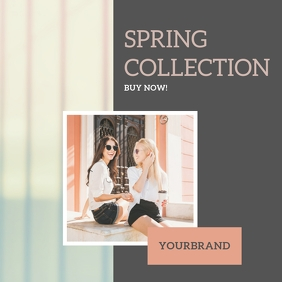 Spring Fashion Instagram Post Template