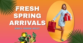 spring fashion/sale/retail/clothe store/mall