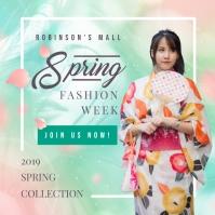 Spring Fashion Week Invitation