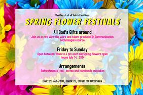 Spring Festival Poster Template