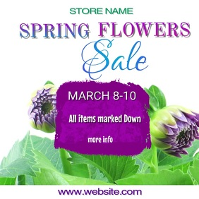 Spring Flowers Sale Video