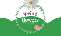 Spring Flowers Templates Tag