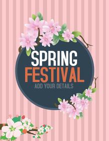 Spring flyer,spring break templates,event flyer templates