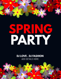 Spring flyers,event flyers